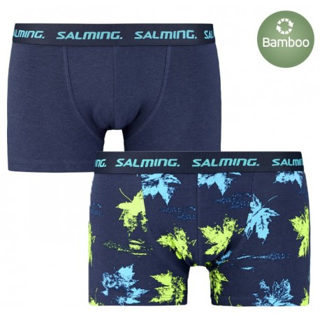 Salming Greenwood 2-pack boxer, Navy