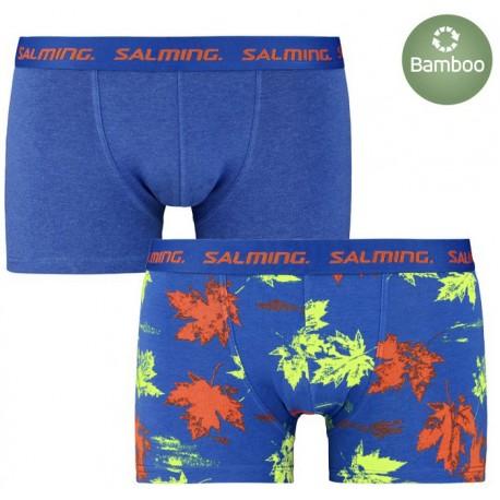 Salming Greenwood 2-pack boxer, Blue